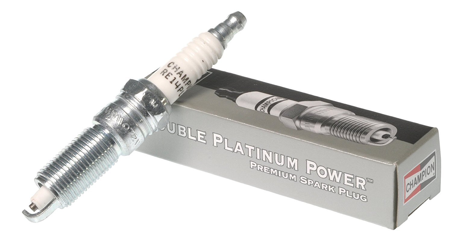 Spark Plug-Double Platinum Power Champion Spark Plug 7445
