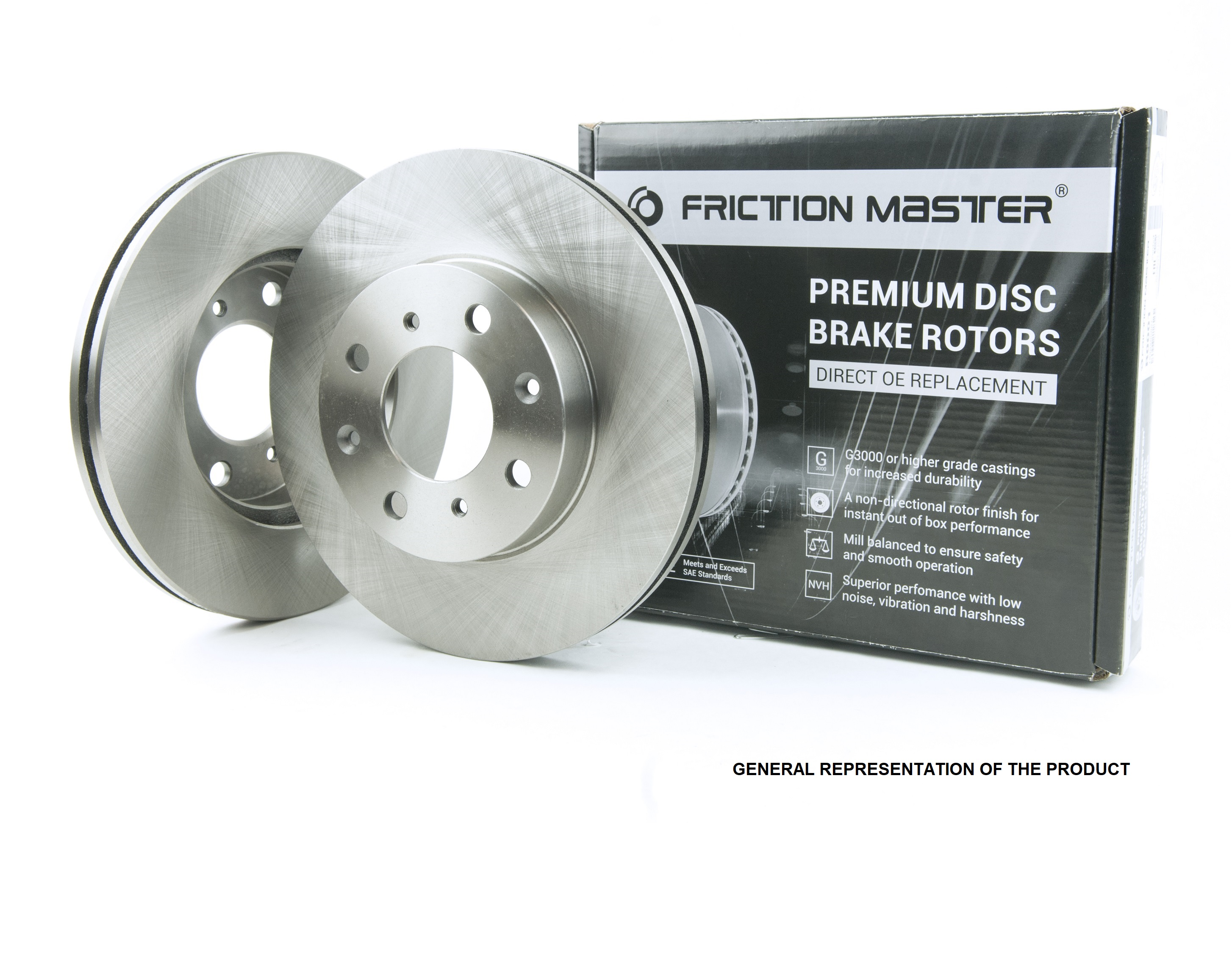Brake Pads Include Hardware With Two Years Manufacturer Warranty Front Disc Brake Rotors and Ceramic Brake Pads for 2006 Ford Focus